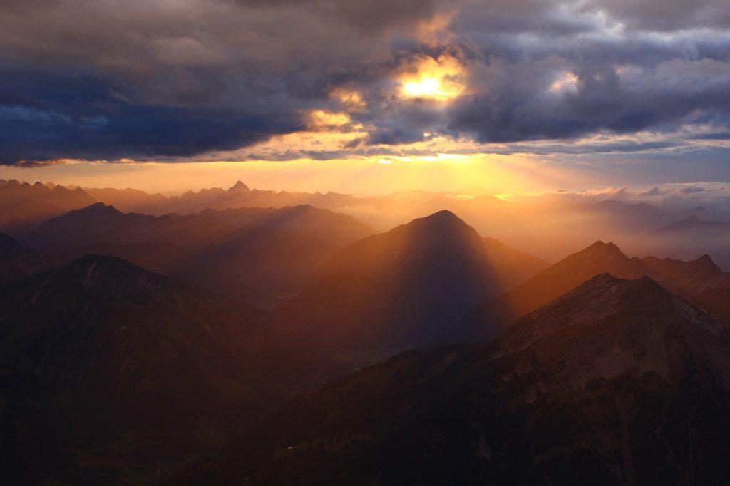 zugspitze, alpine, summit